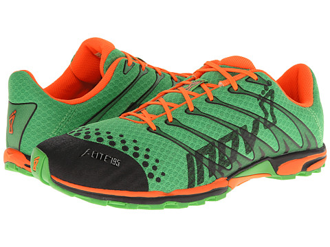 inov-8 - F-Lite 195 (Green/Orange) Men