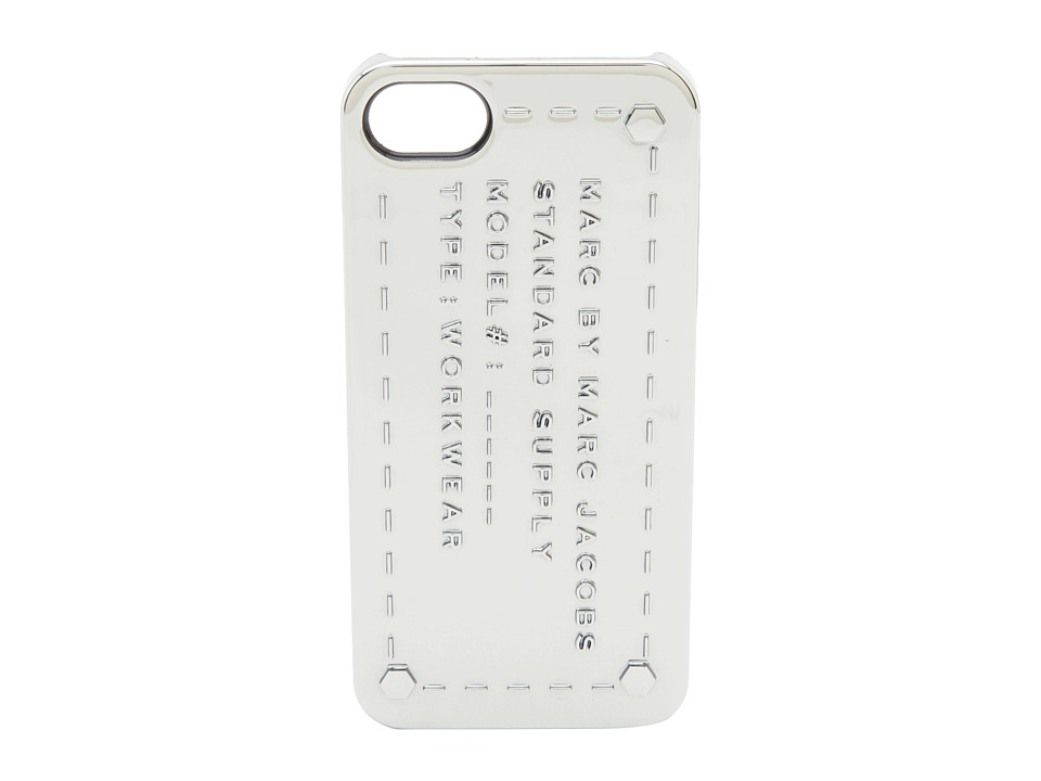 Marc by Marc Jacobs - Standard Supply Iphone 5 Case (Metallic Silver) Cell Phone Case