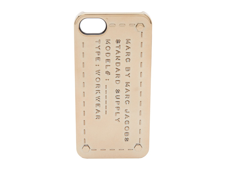 Marc by Marc Jacobs - Standard Supply Iphone 5 Case (Metallic Rose Gold) Cell Phone Case
