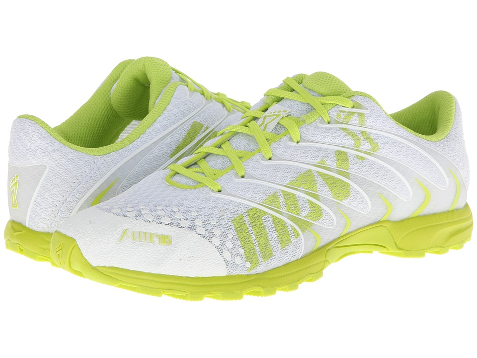inov-8 - F-Lite 195 (White/Lime) Women's Running Shoes