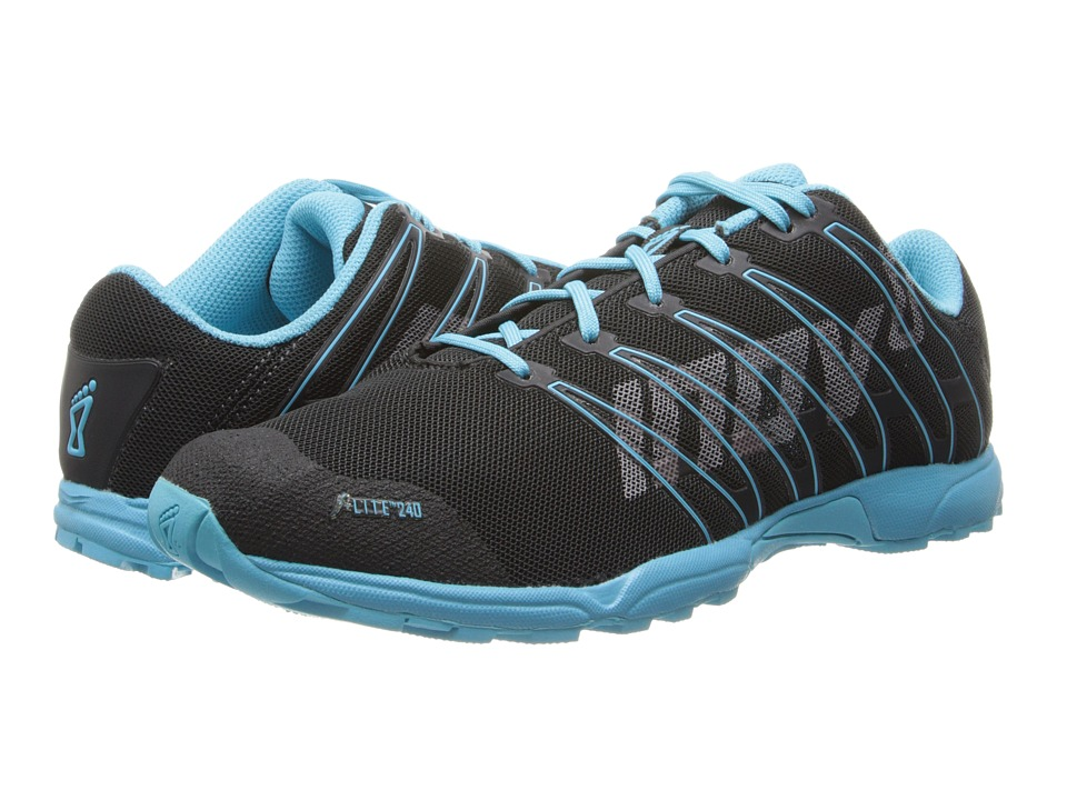 inov-8 - F-Lite 240 (Raven/Blue) Women's Running Shoes