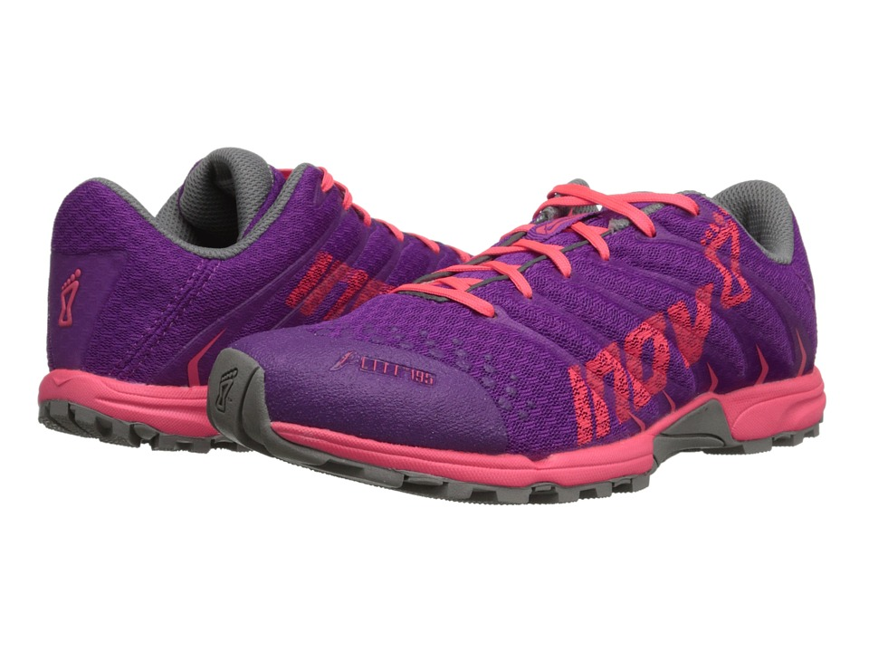 inov-8 - F-Lite 195 (Purple/Pink) Women's Running Shoes