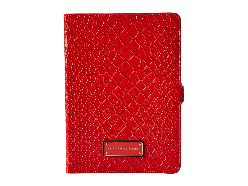 Marc by Marc Jacobs - Jellysnake Colorblocked Tablet Book (Red Bloom Multi) Computer Bags