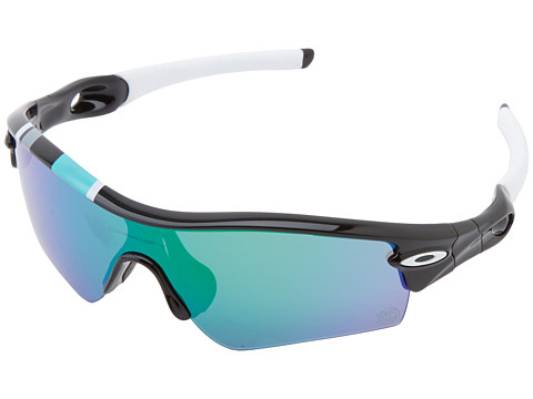 Oakley - Radar (Path Polished Black w/ Jade Iridium) Sport Sunglasses