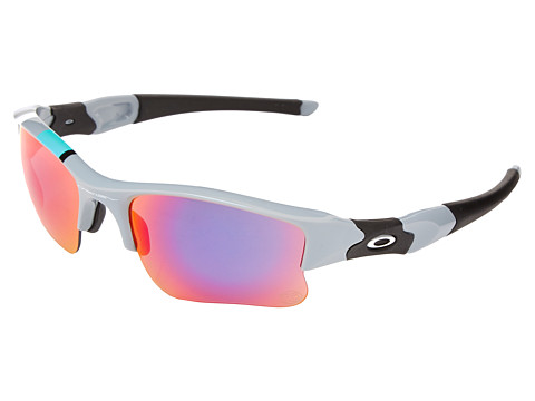 Oakley - Flak Jacket XLJ (Fog w/ Red Iridium) Sport Sunglasses