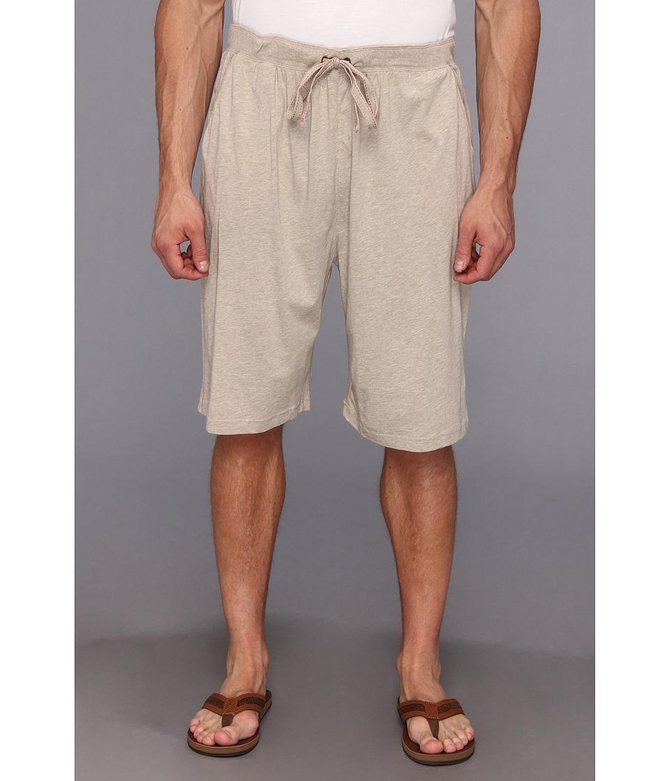 Tommy Bahama Big Tall Heather Cotton Modal Jersey BMS Mens Pajama (Beige)