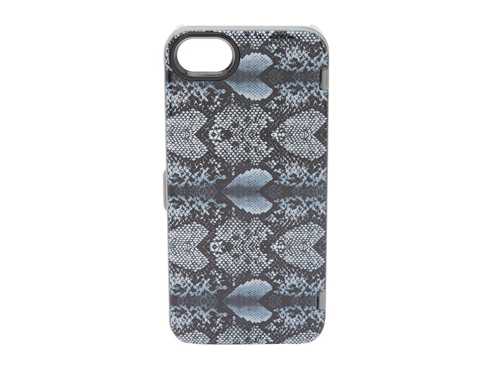 Marc by Marc Jacobs - Snake Heart w/ Mirror Iphone 5 Case (Gym Grey Multi) Cell Phone Case