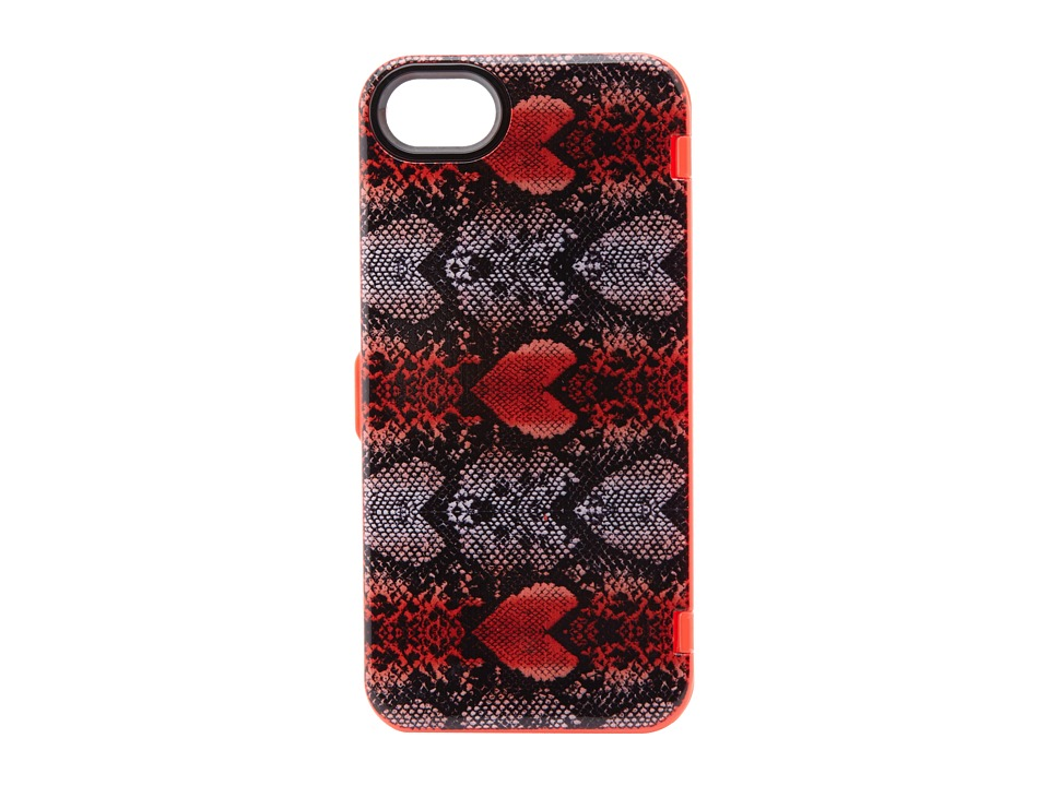 Marc by Marc Jacobs - Snake Heart w/ Mirror Iphone 5 Case (Infra Red Multi) Cell Phone Case
