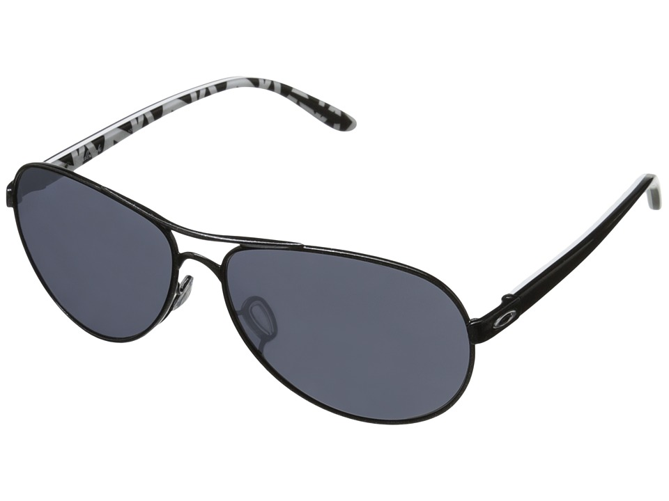 Oakley - Feedback (Metallic Black W/Black Iridium) Sport Sunglasses