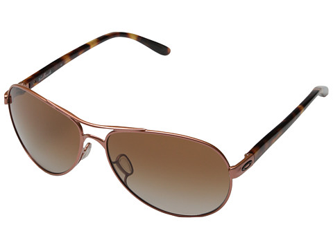 Oakley - Feedback (Grapefruit Pearl w/ Dark Brown Gradient) Sport Sunglasses