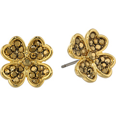 SALE! $14.99 - Save $10 on Lucky Brand Clover Stud Earrings (Gold 1) Jewelry - 40.04% OFF $25.00