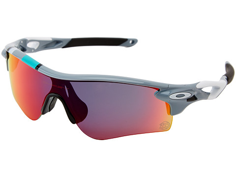 Oakley - Radarlock Path (Fog w/ Red Irid/Black Irid) Sport Sunglasses