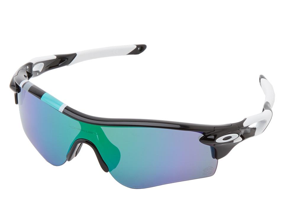 Oakley - Radarlock Path (Pol Black w/ Jade Ird/Black Iridium) Sport Sunglasses