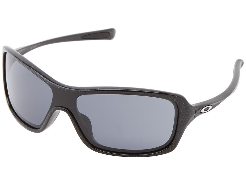 Oakley - Break Up (Metallic Black w/ Grey) Sport Sunglasses