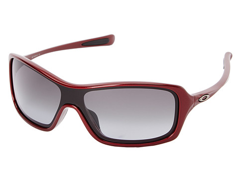 Oakley - Break Up (Scarlet w/ Black Grey Grad) Sport Sunglasses