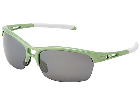 Oakley - RPM (RPM Sq Honeydew Pearl w/ Black Iridium Polarized) Sport Sunglasses