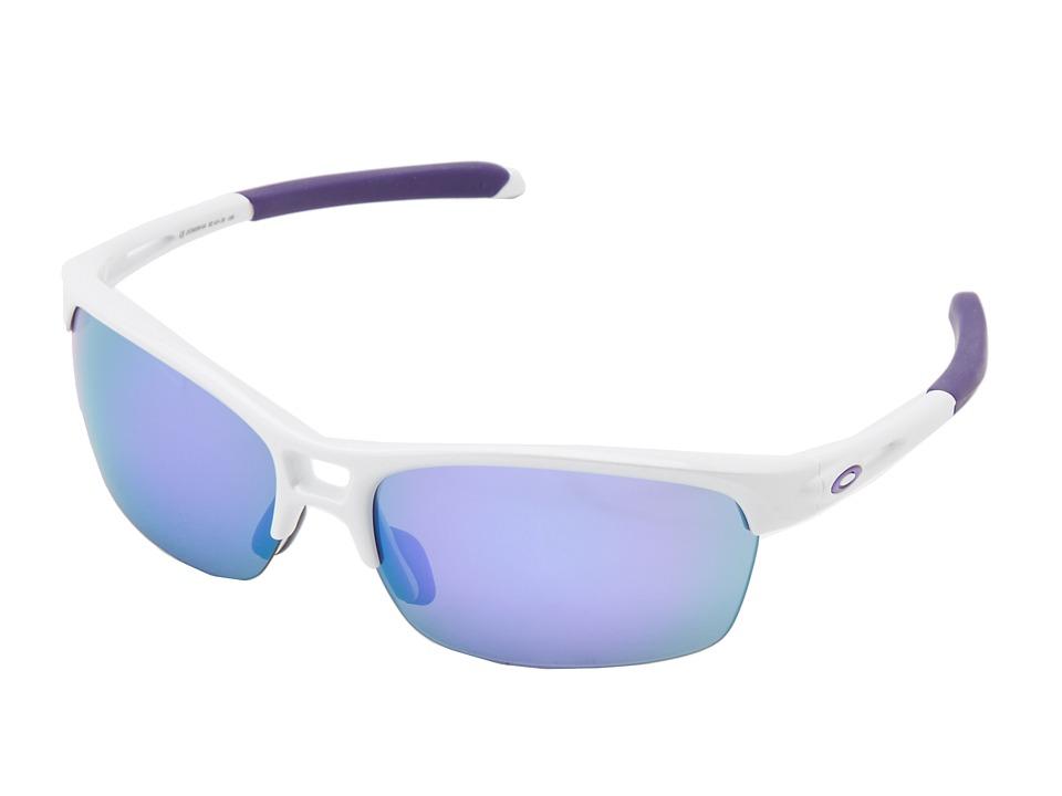 Oakley - RPM (Sq Arctic w/ Violet Iridium) Sport Sunglasses