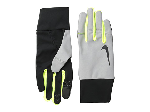 Nike - Nike Women's Vapor Flash Run Gloves (Black/Volt) Athletic Sports Equipment