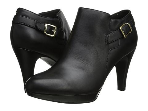 Clarks - Brier Milan (Black Leather) High Heels