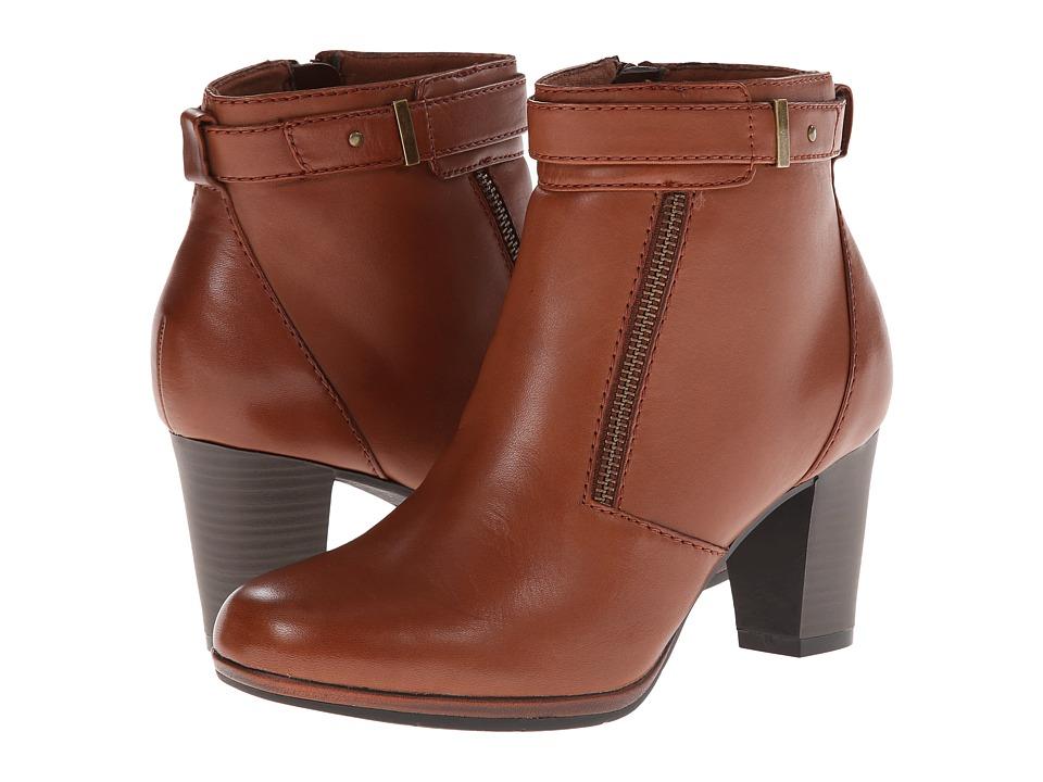 Clarks Kalea Gillian (Tan Leather) Women