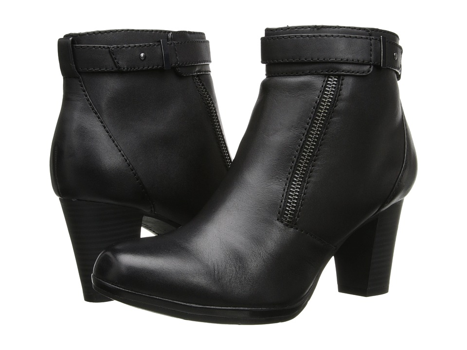 Clarks Kalea Gillian (Black Leather) Women