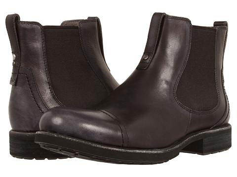 UGG - Gallion (Black Leather) Men
