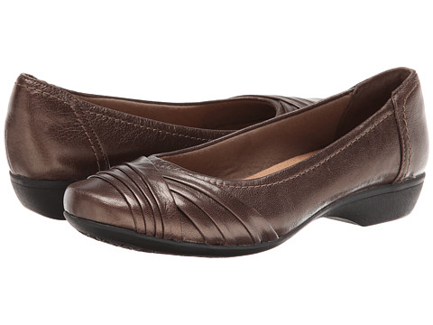 Clarks - Propose Pixie (Dark Brown Leather) Women's Shoes