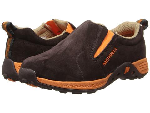 Merrell Kids - Jungle Moc Sport (Little Kid) (Brown/Orange) Boys Shoes