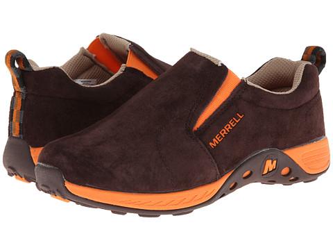 Merrell Kids - Jungle Moc Sport (Big Kid) (Brown/Orange) Boys Shoes