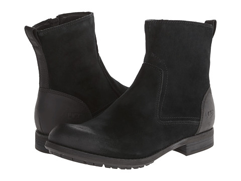UGG - Dulwich (Black Suede) Men's Shoes