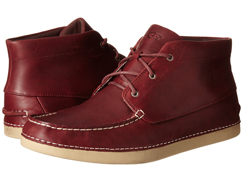 UGG - Kaldwell (Cordovan Leather) Men's Lace up casual Shoes