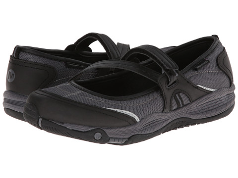 Merrell Kids - Allout Girls MJ (Big Kid) (Black) Girls Shoes