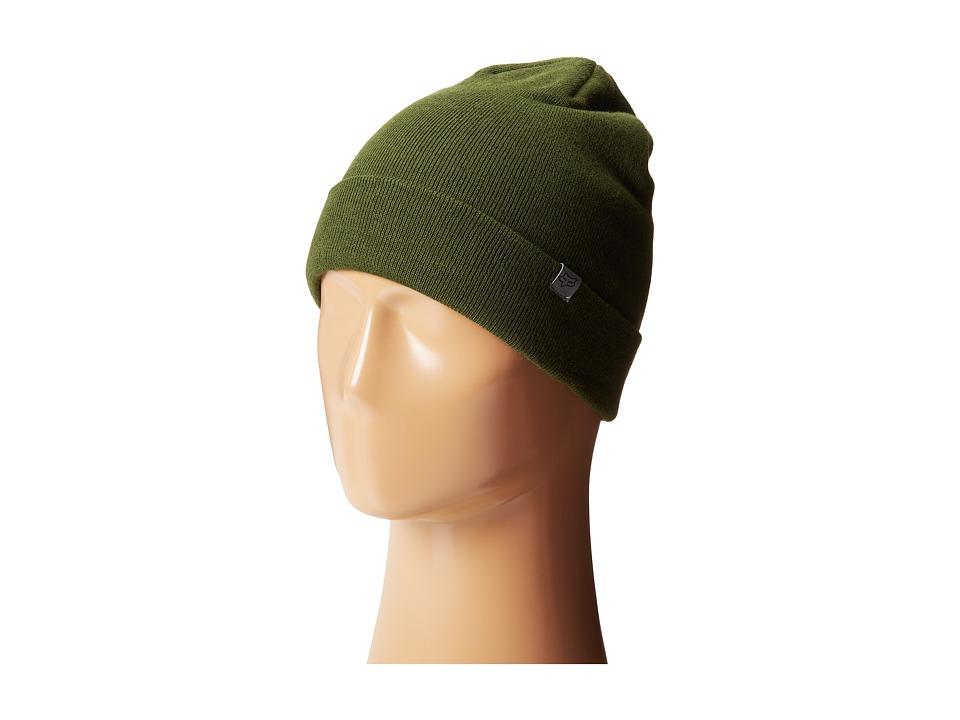 Fox - Length Beanie (Fatigue Green) Beanies