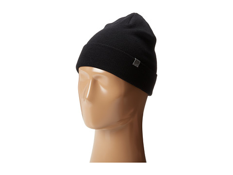 Fox - Length Beanie (Black) Beanies