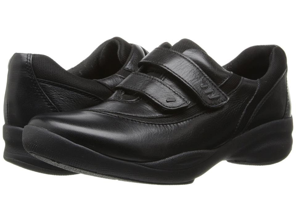 Clarks - InMotion Brim (Black Leather) Women's Shoes