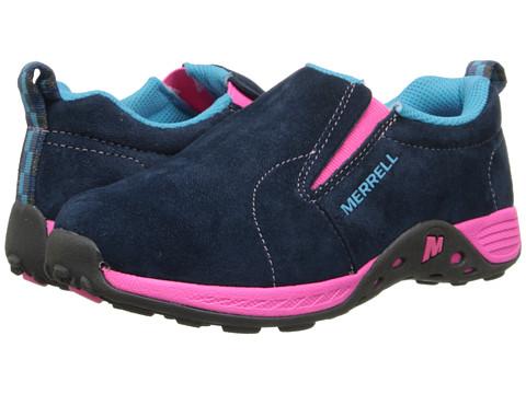 Merrell Kids - Jungle Moc Sport (Little Kid) (Navy/Pink) Girls Shoes