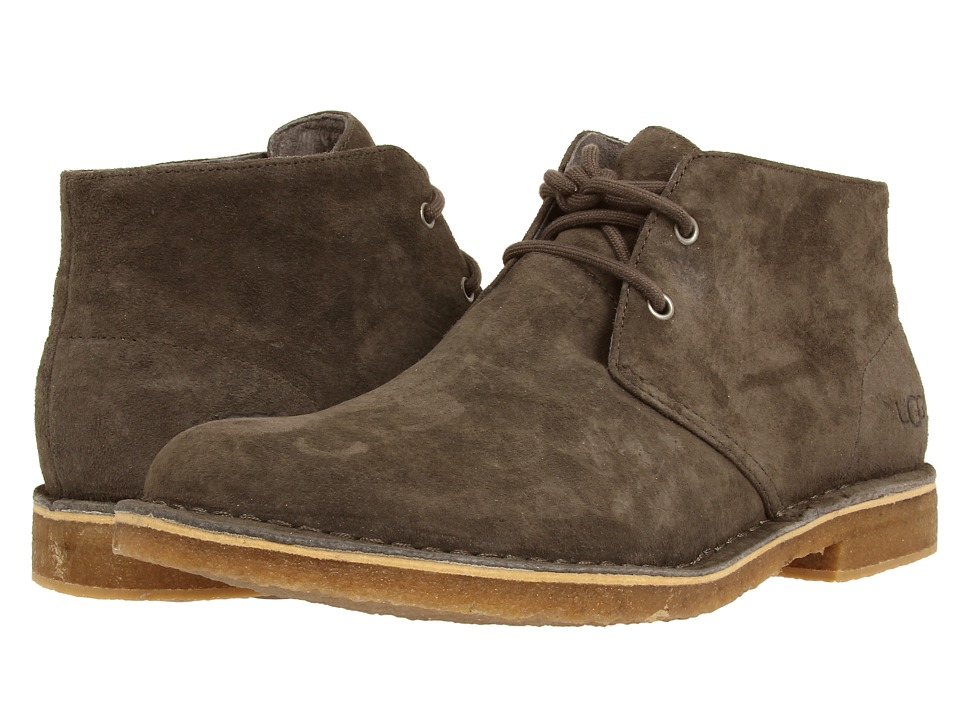 UGG - Leighton (Charcoal Suede) Men