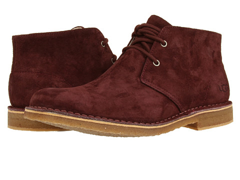 UGG - Leighton (Cordovan Suede) Men's Dress Lace-up Boots