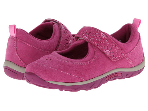 Merrell Kids - Jungle Moc Burst 2 Kids (Toddler/Little Kid/Big Kid) (Cactus Flower) Girl's Shoes