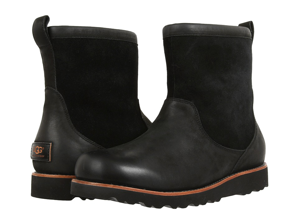 UGG Munroe (Black Leather) Men
