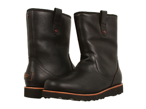 UGG - Stoneman (Black Leather