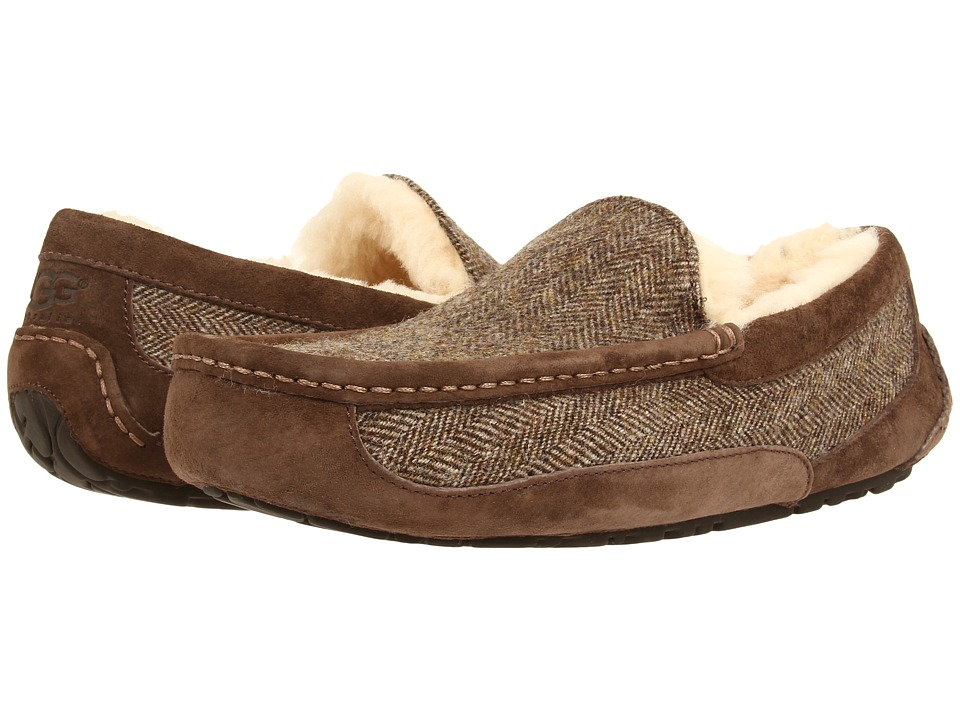 UGG - Ascot Tweed (Stout Wool) Men's Shoes