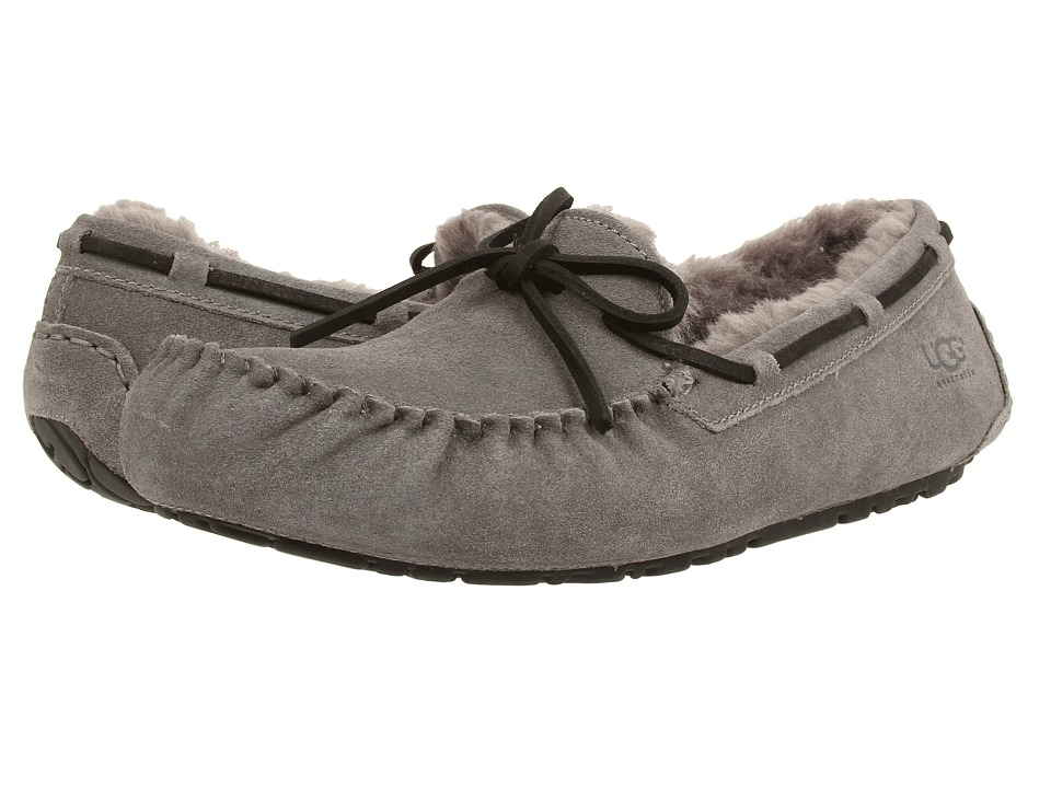 UGG - Olsen (Charcoal Suede) Men's Slip on Shoes