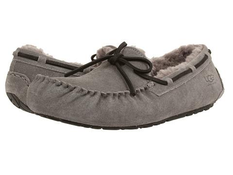 UGG - Olsen (Charcoal Suede) Men's Slip on Shoes