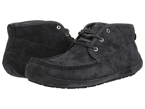 UGG - Lyle (Navy Suede) Men's Lace-up Boots