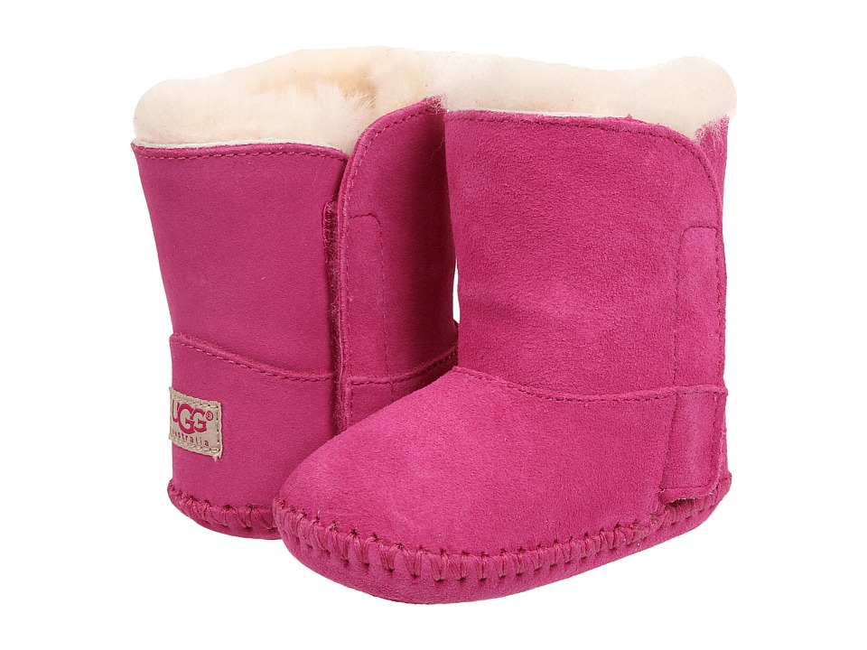 UGG Kids - Caden (Infant/Toddler) (Princess Pink Suede) Girls Shoes
