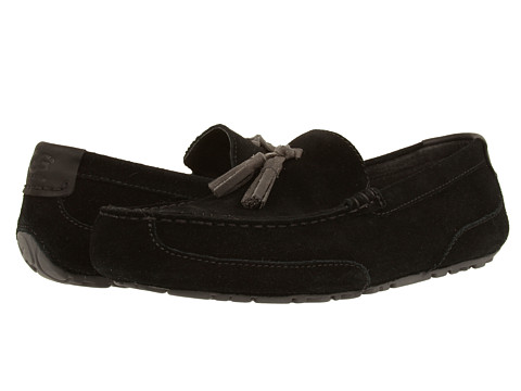 UGG - Boylan (Black Suede) Men's Shoes