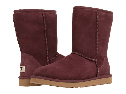 UGG - Classic Short (Port) Women's Pull-on Boots