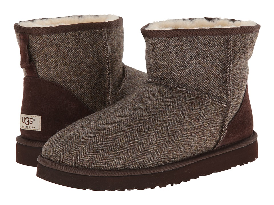 UGG - Classic Mini Tweed (Stout Wool) Men