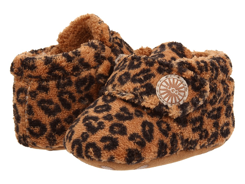 UGG Kids - Bixbee Leopard (Infant/Toddler) (Chestnut Leopard) Girl's Shoes